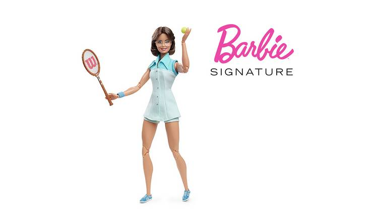 Barbie Inspiring Women Billie Jean King Collectible Doll