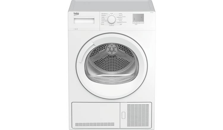 Beko DTGCE7010W 7KG Condenser Tumble Dryer - White
