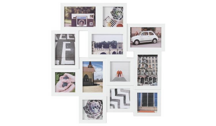 Buy Argos Home 12 Aperture Photo Frame White Picture Frames Argos