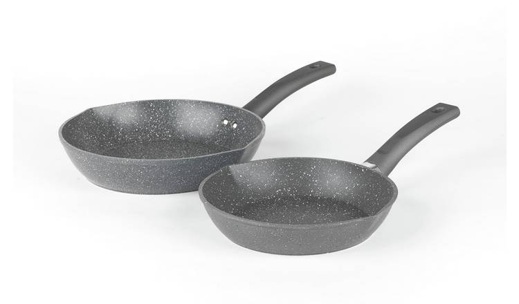 Salter Easypour 2 Piece Frying Pan Set