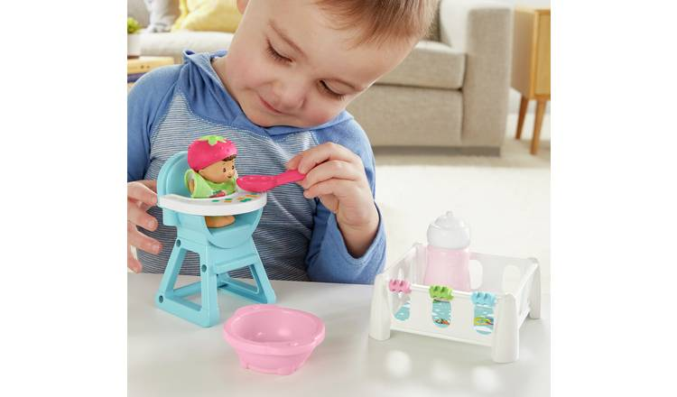 Fisher-Price World of Little People Snack & Snooze Playset