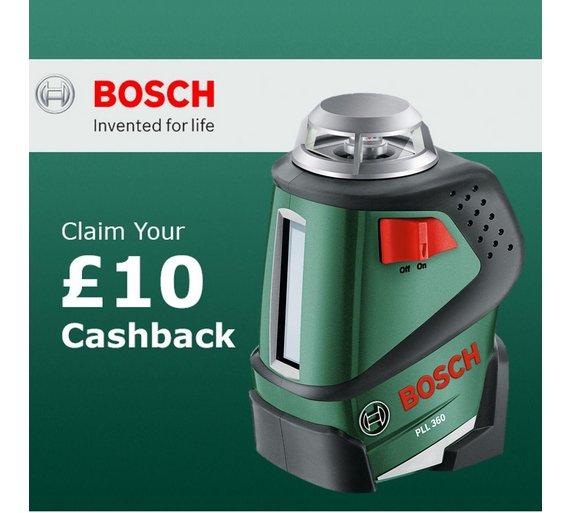 Buy bosch pll 360 set levelling laser 360 degrees tripod for Laser bosch pll 360