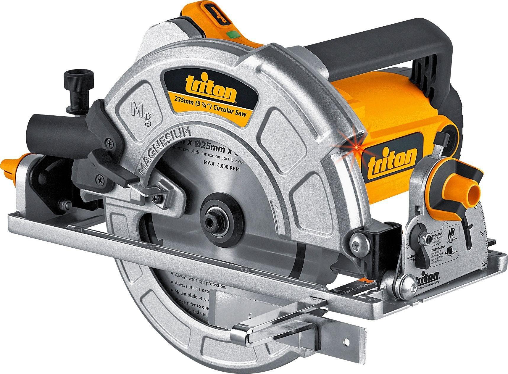 Triton TA235CSL Precision Circular Saw 2300W. lowest price