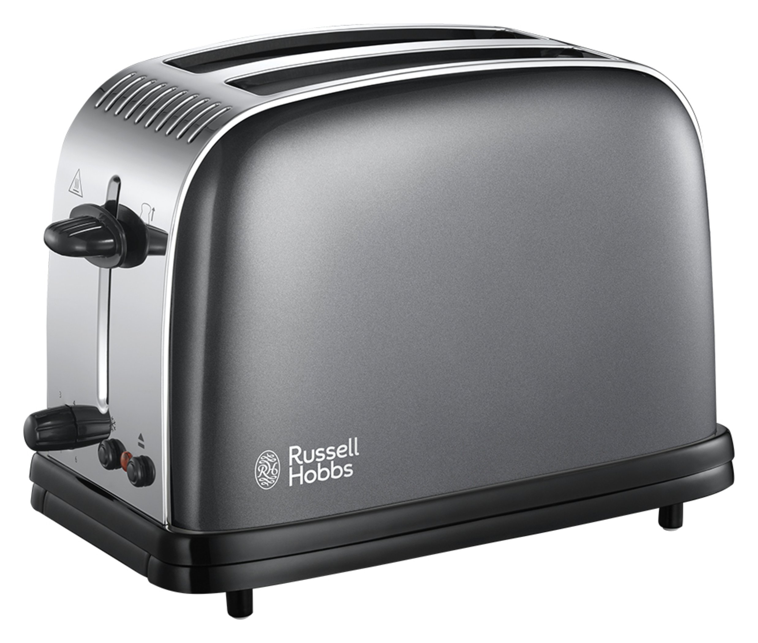 Russell Hobbs 23332 Colours+ 2 Slice Toaster - Grey