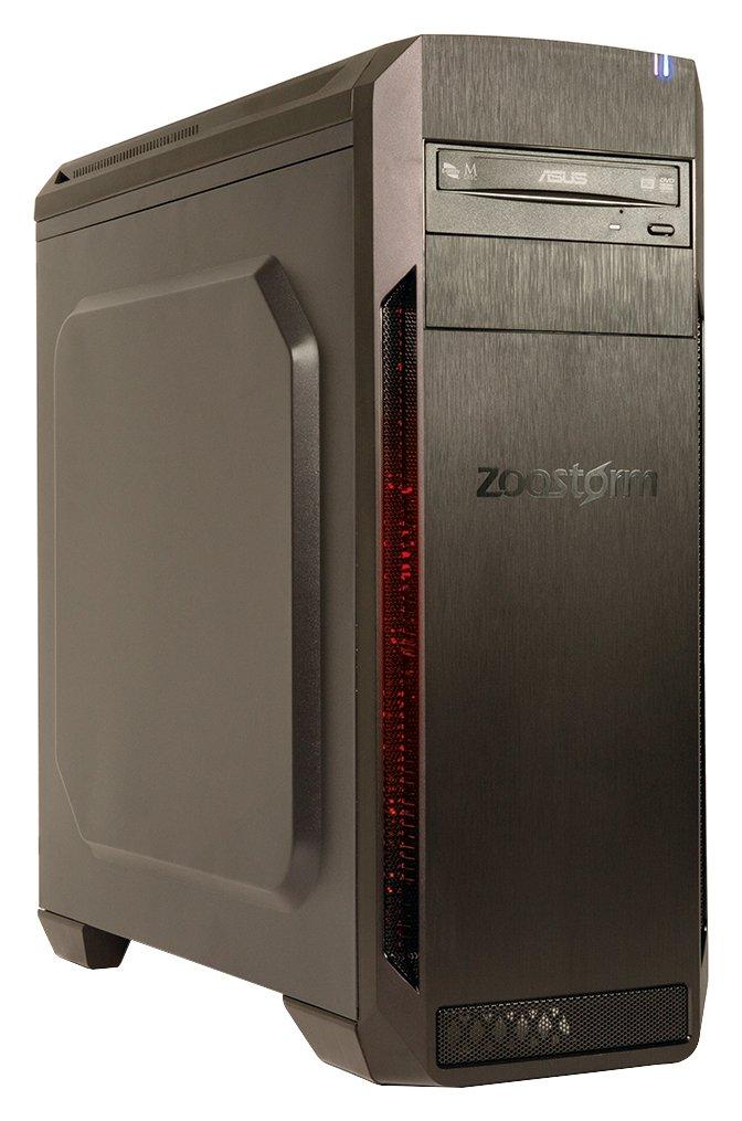 Zoostorm Zoostorm Voyager Ryzen 5 8GB 2TB GTX1050 Gaming PC - Black.