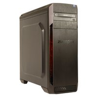 ZooStorm Voyager Ryzen 5 8GB 2TB GTX1050 Gaming PC - Black.