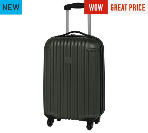Buy IT Luggage Hard 4 Wheel Small Suitcase - Grey at Argos.co.uk ...