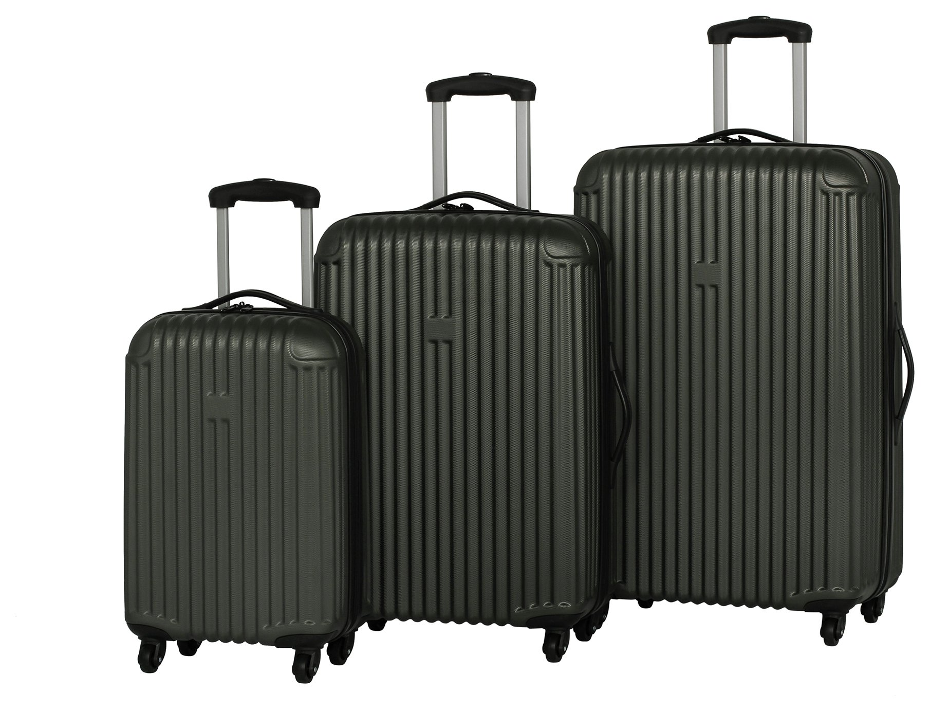 Buy IT Luggage Hard 4 Wheel Small Suitcase - Grey at Argos.co.uk ...