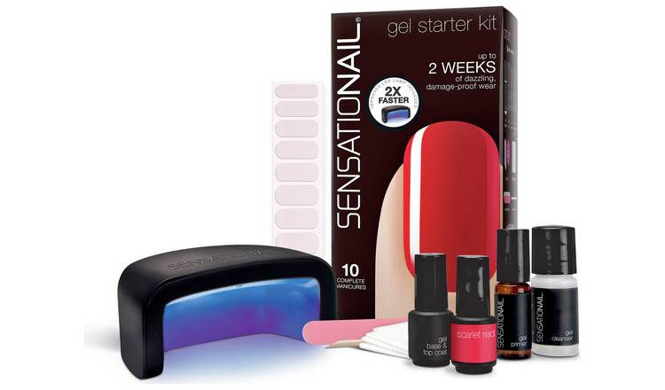SensatioNail Scarlet Red Gel Starter Kit