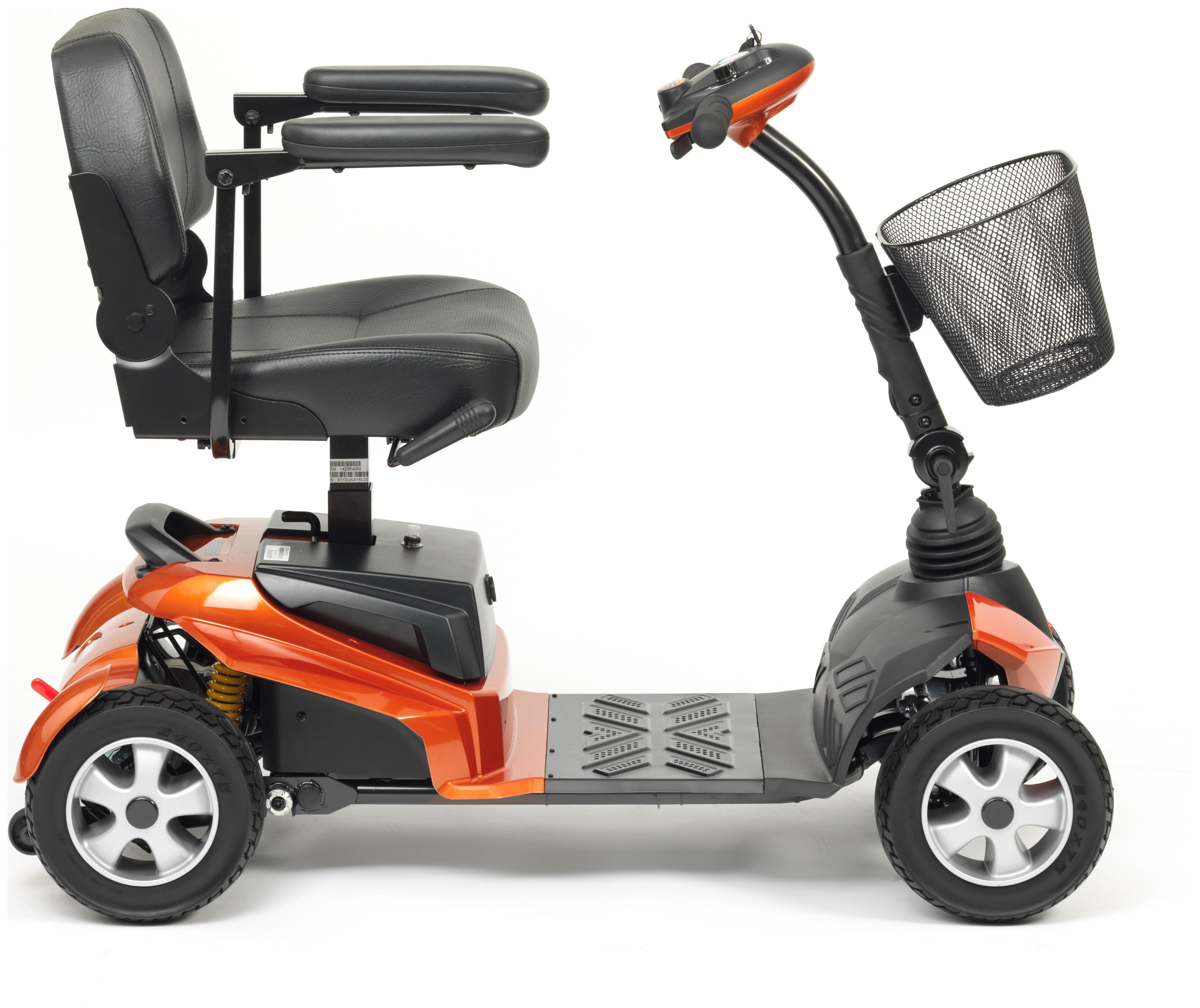Orange Boot Scooter