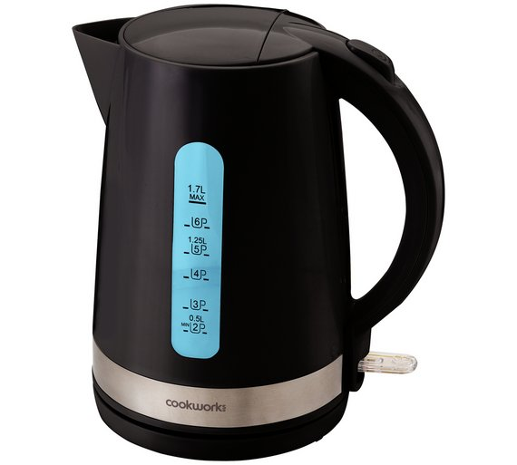 buy cookworks illumination kettle black kettles argos