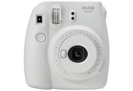 Fujifilm Instax Mini 9 Instant Camera - Ash White.