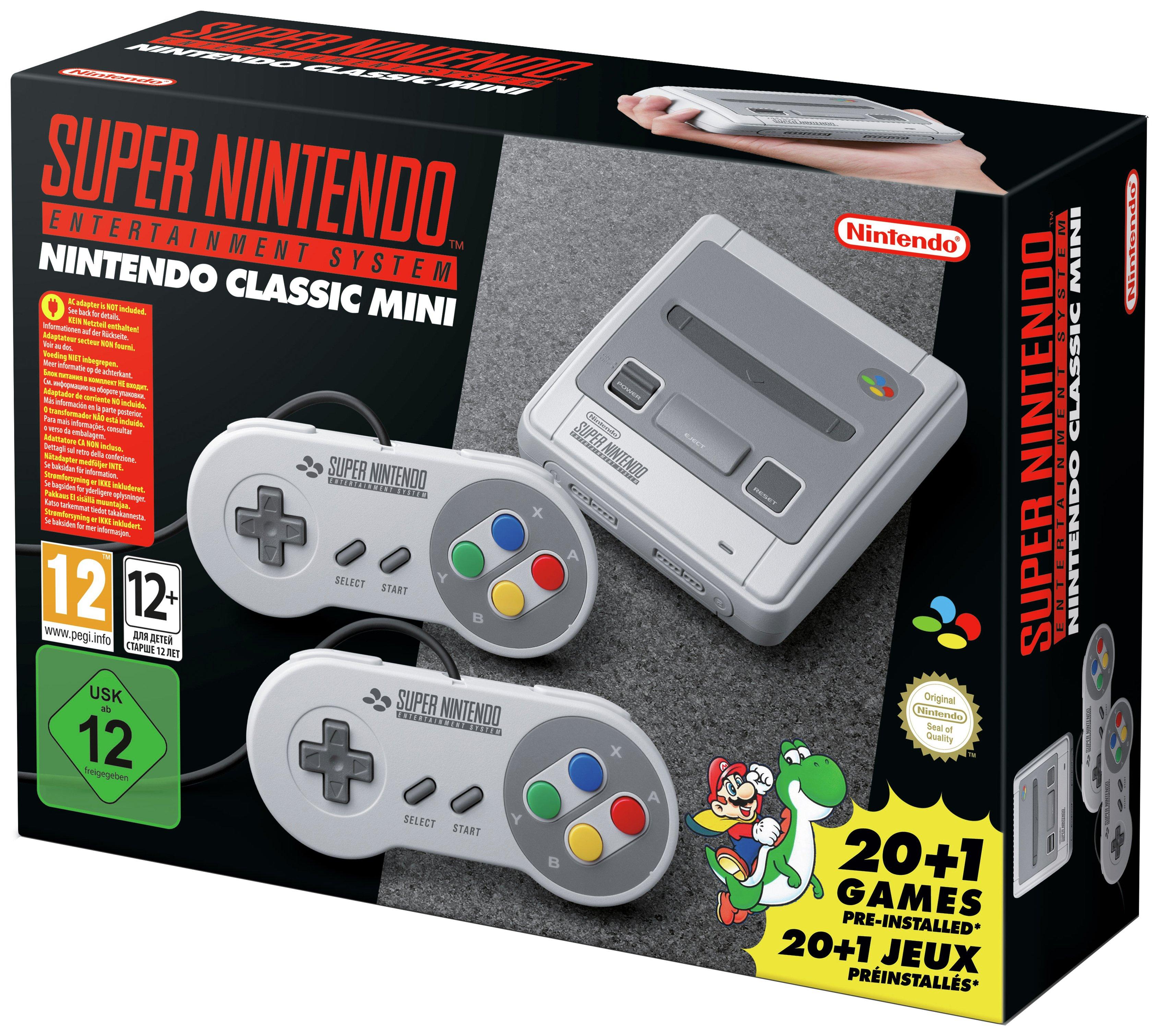 SNES Classic Mini Pre-Order console
