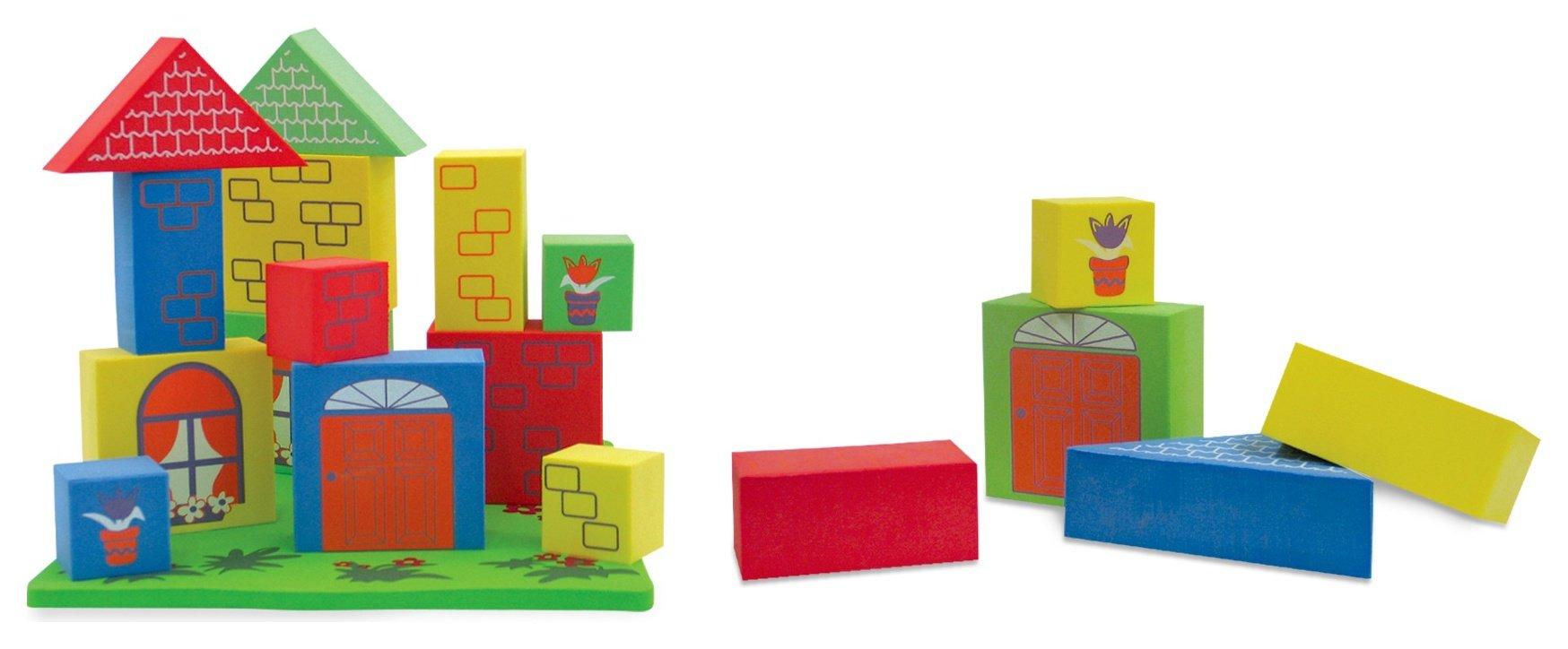 Image of Edushape Floating Blocks Bath Toy