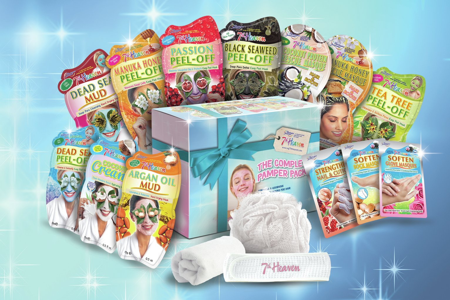 Image result for 7th heaven the complete pamper pack