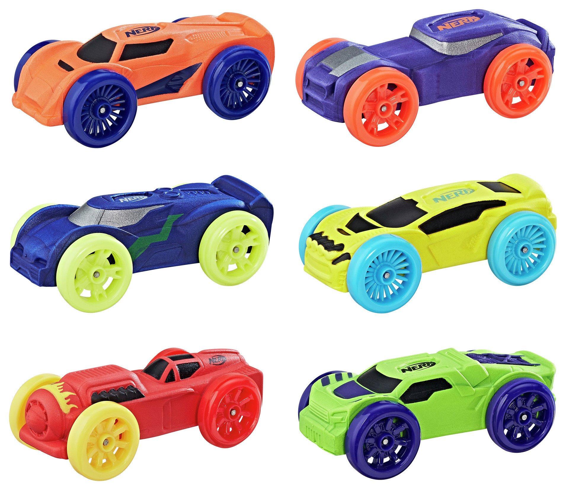 Nerf Nitro Foam Car 6-Pack Assortment