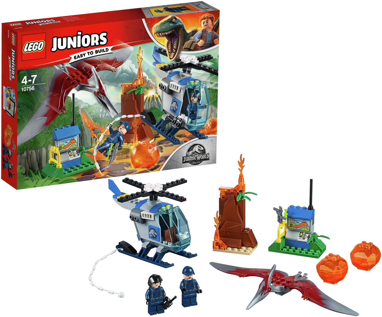 LEGO Juniors Pteranadon Escape Set - 10756