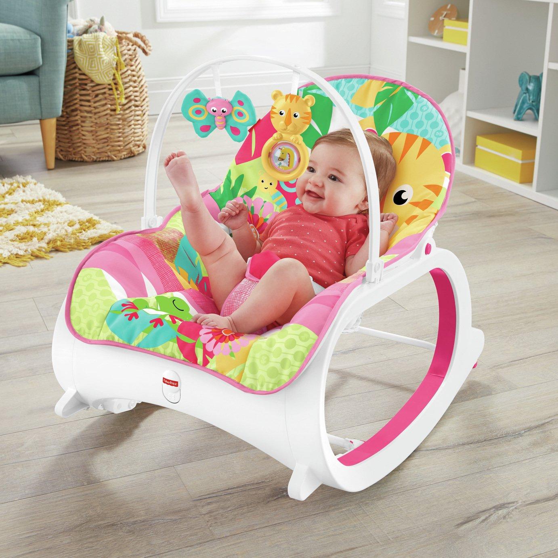 Fisher-Price Infant Toddler Rocker - Pink