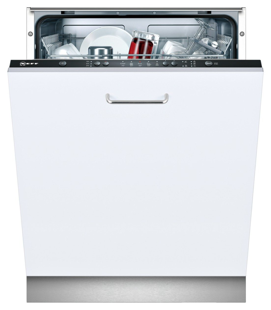 Neff S511A50X1G Integrated Dishwasher - White