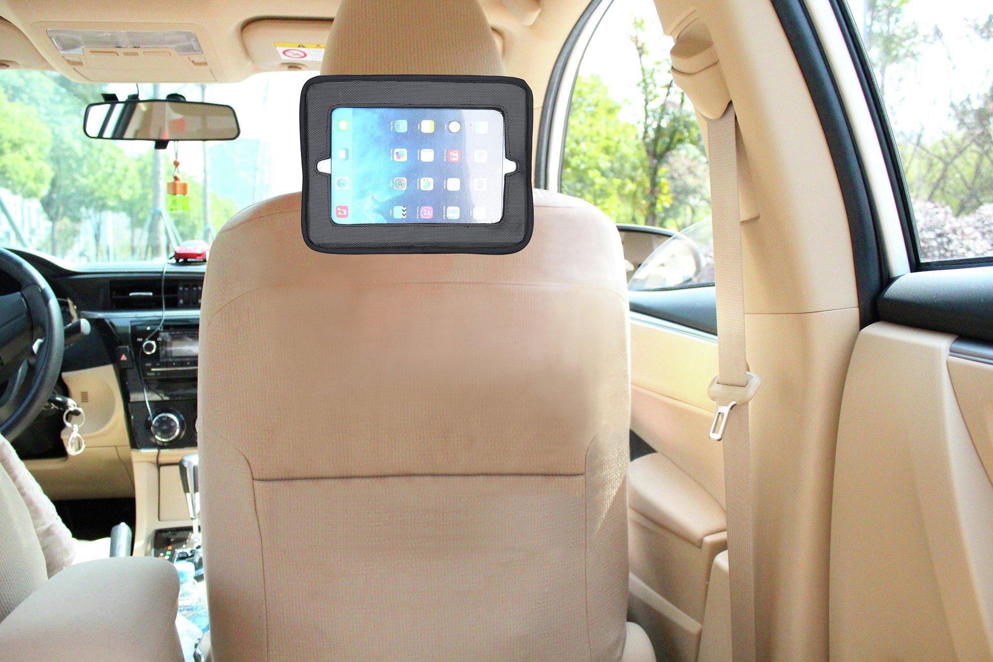 Image of Babydan Head Rest Mounted Tablet Holder