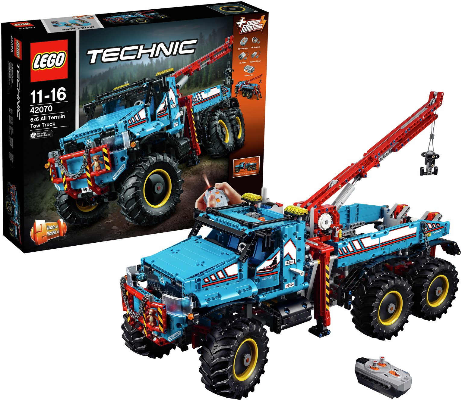 Image of LEGO Technic 6x6 All Terrain Tow Truck - 42070