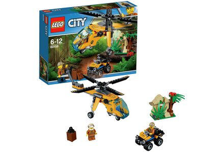 LEGO City Jungle Cargo Helicopter - 60158.