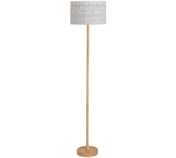 Buy Argos Home Mono Wooden Floor Lamp | Floor lamps | Argos