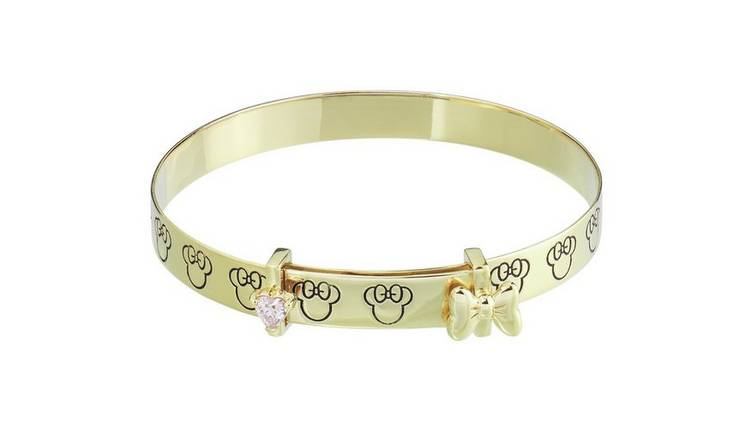 Beatrix Potter 9ct Gold Plated Peter Rabbit Expander Bangle
