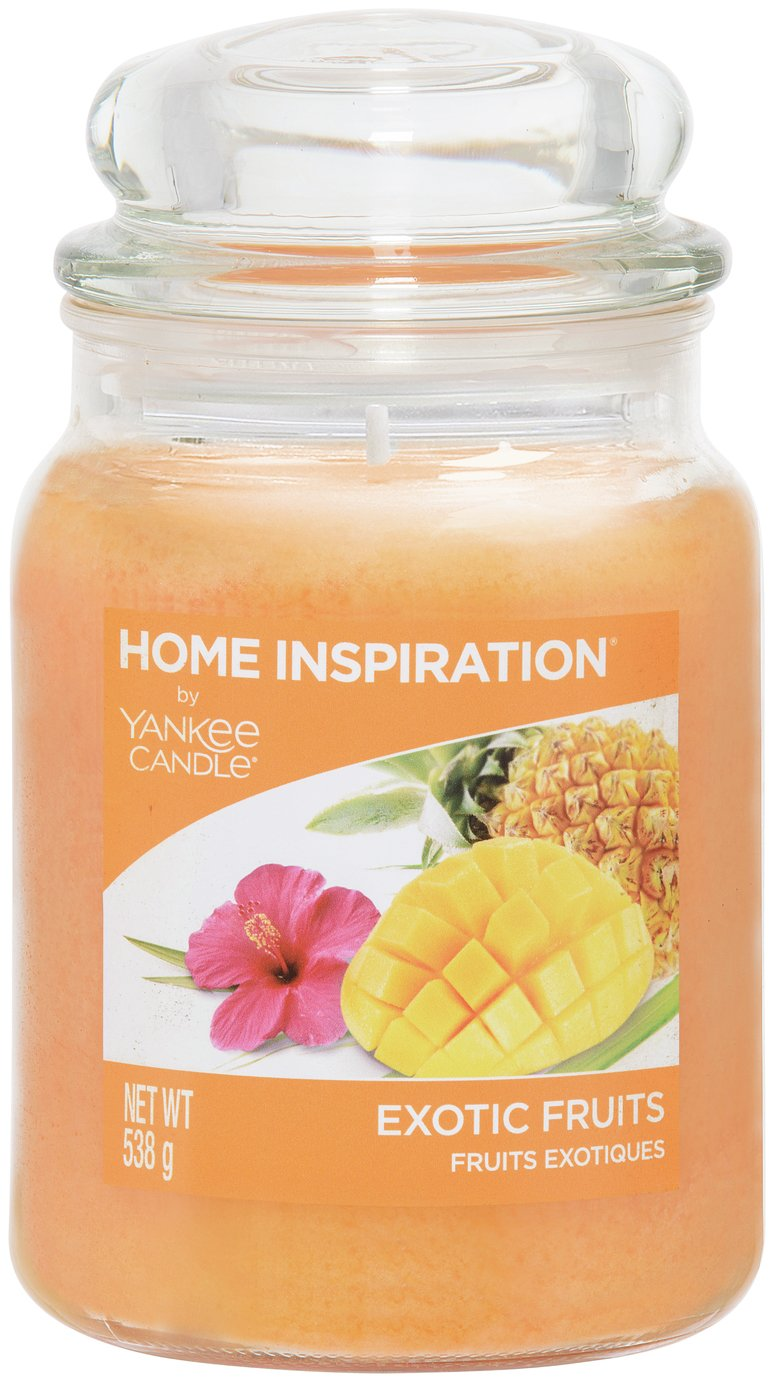 Image of Yankee Candle Large Jar Candle - Exotic Fruits