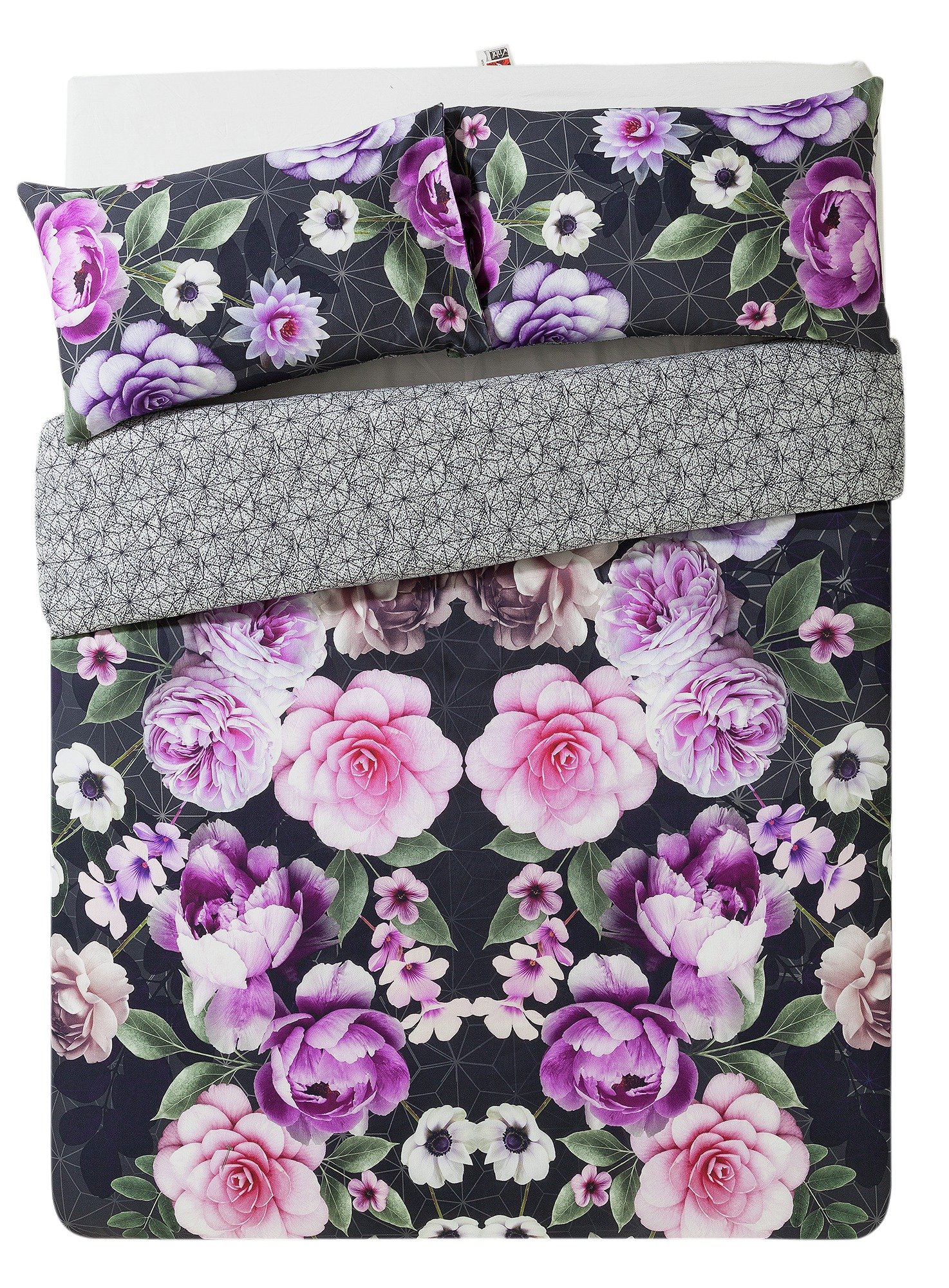 Collection Azalea Digital Floral Bedding Set - Kingsize.