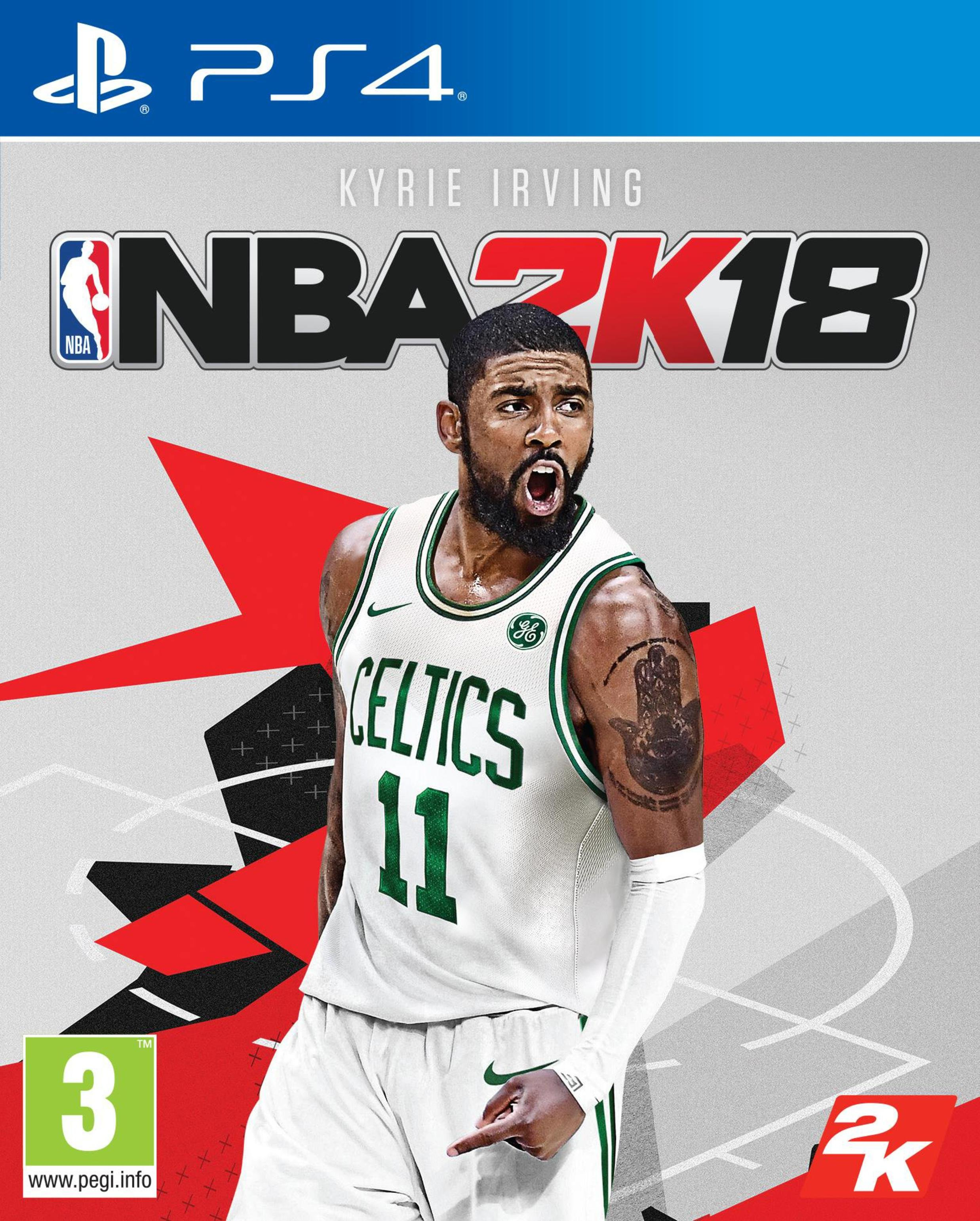 Image of NBA 2K18 PS4 Game