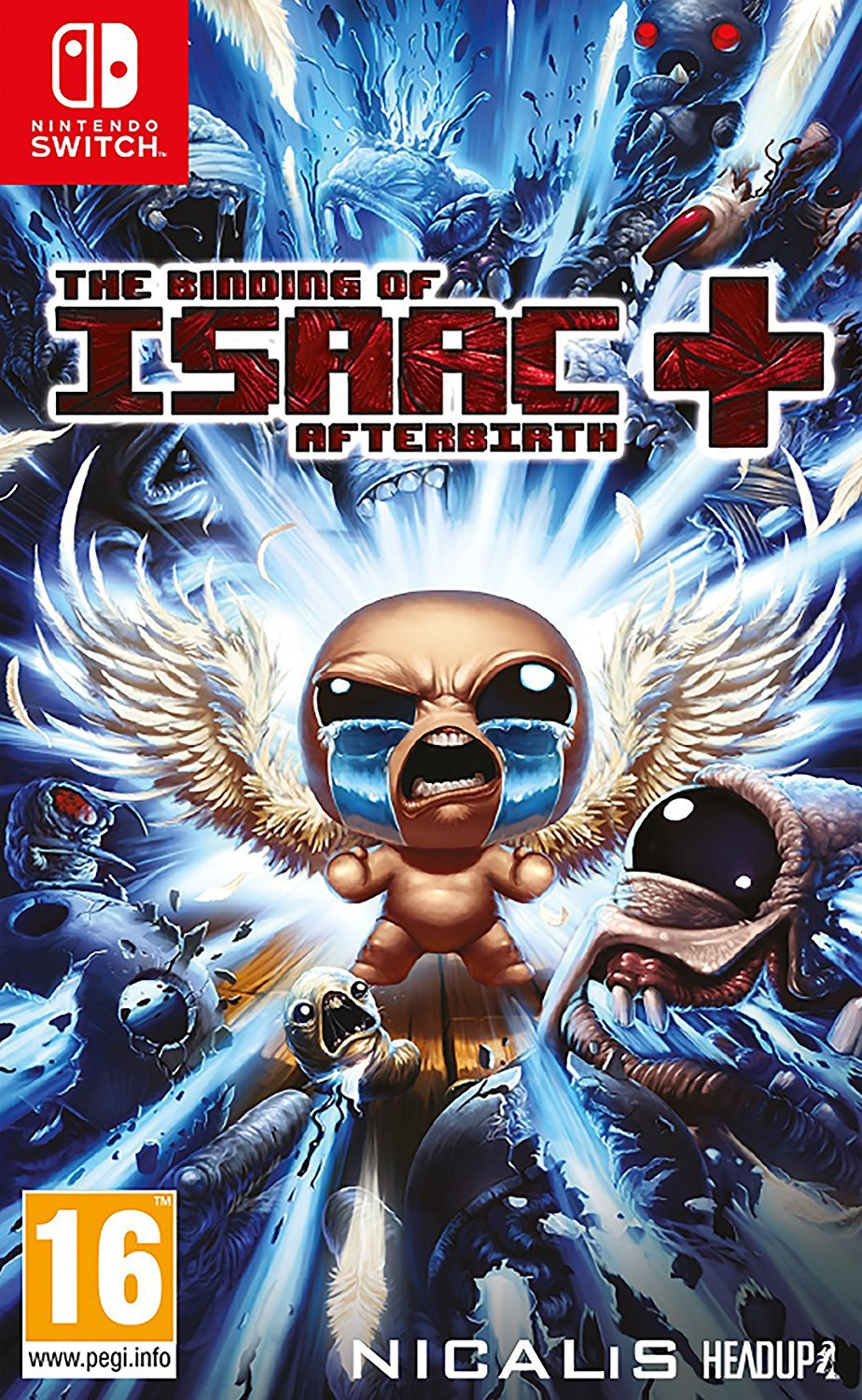 Image of Binding of Isaac: Afterbirth Nintendo Switch Game