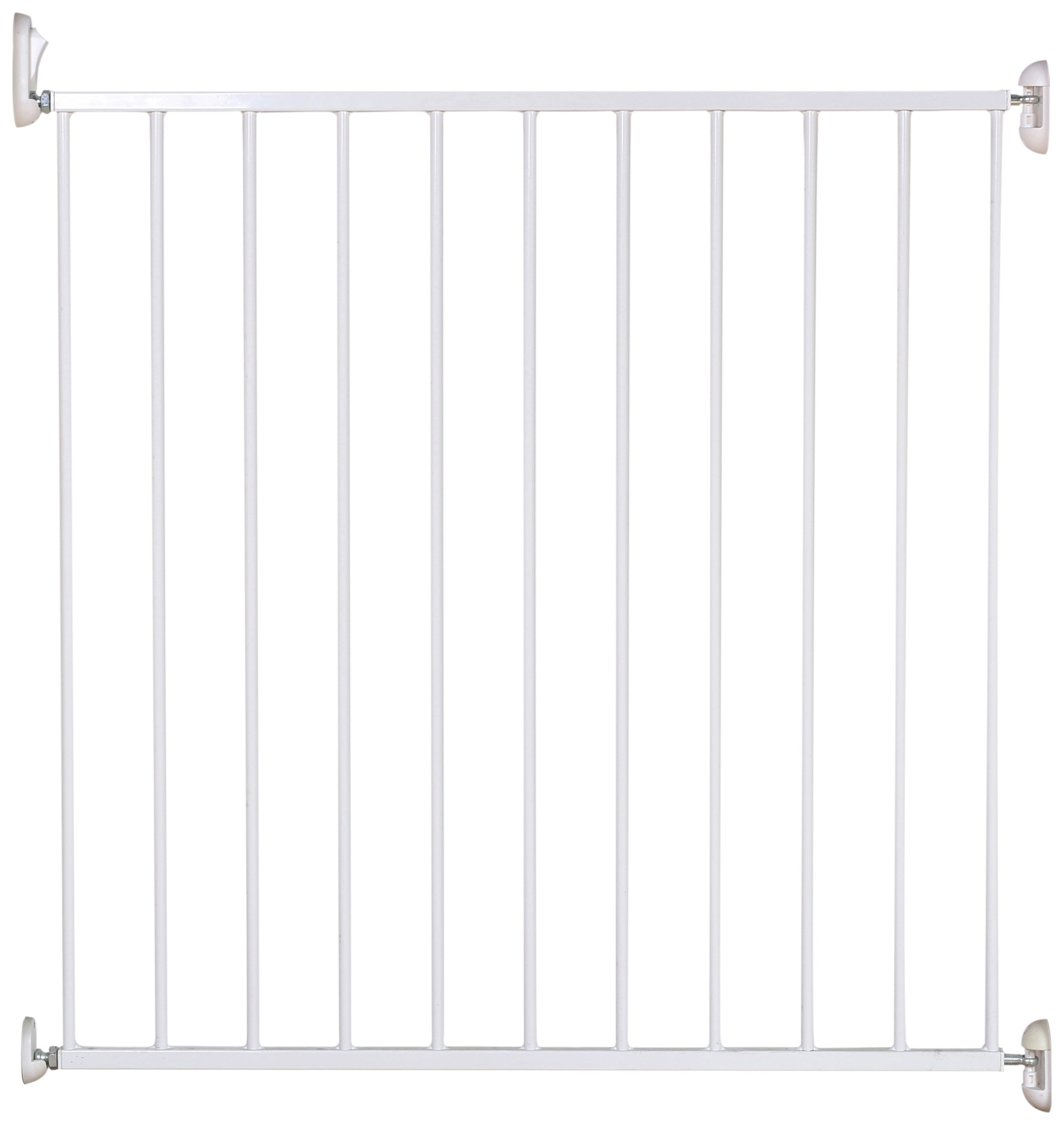 Cuggl Single Panel Metal Wall Fix Gate
