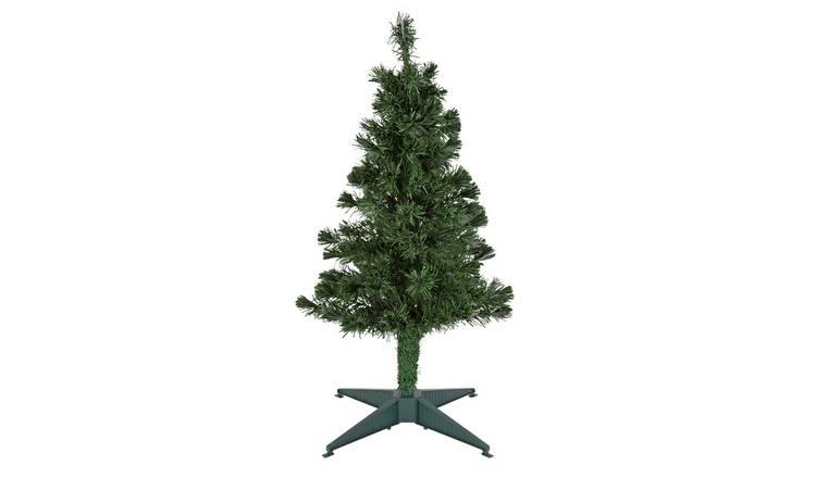 Buy Argos Home 3ft Fibre Optic Christmas Tree