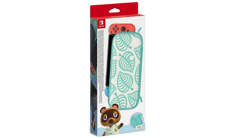 Nintendo Switch Animal Crossing Case and Screen Protector