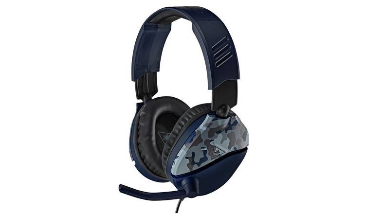 Turtle Beach Recon 70 Xbox, PS5, PS4, PC Headset - Blue camo