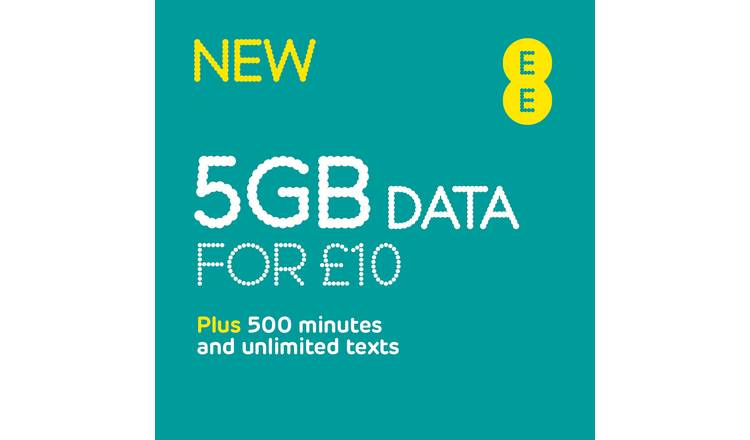EE 4GB Pay As You Go SIM Card