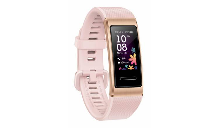 Huawei Band 4Pro Fitness Tracker - Pink Gold