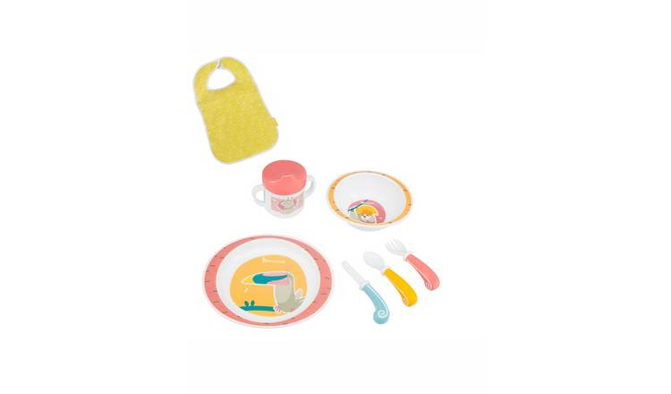 Badabulle Yummy Lunch Set - Coral