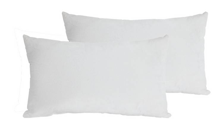 Argos Home 30x50cm Cushion Pads - 2 Pack