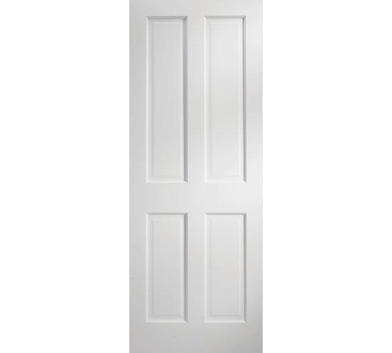 Buy Jeld Wen 4 Panel Preprimed Solid Interior Door 1981 X 686mm At Your Online