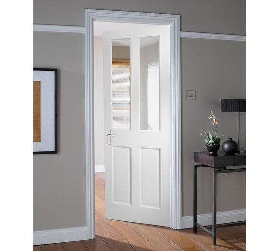 Buy jeld wen 2 lite glazed solid interior door 1981 x 762mm at your online shop for Purchase interior doors online