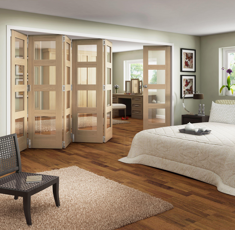 Jeld-Wen Interior Oak Veneer Room Divider 2044x3779mm.