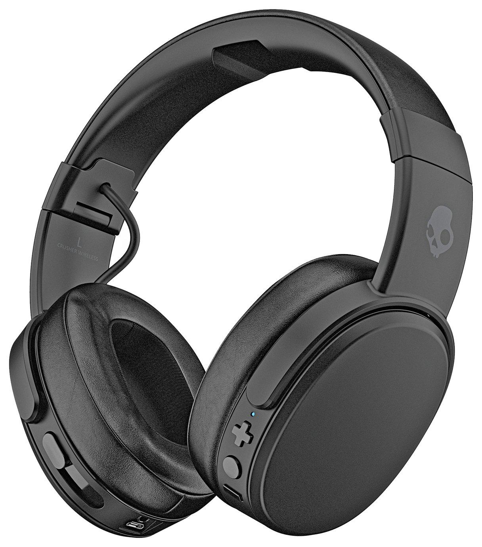 Skullcandy Crusher Wireless Over-Ear Headphones - Black
