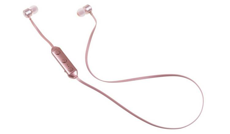 69374a53e63 KitSound Ribbons Wireless In-Ear Headphones - Rose Gold717/3844