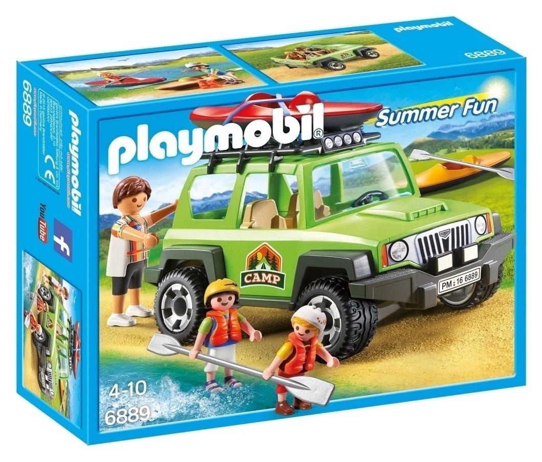 Playmobil 6889 Summer Fun Off Road SUV Playset.