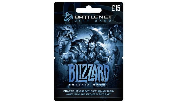 Buy Blizzard BATTLE NET £15 Gift Card   PC gaming accessories   Argos