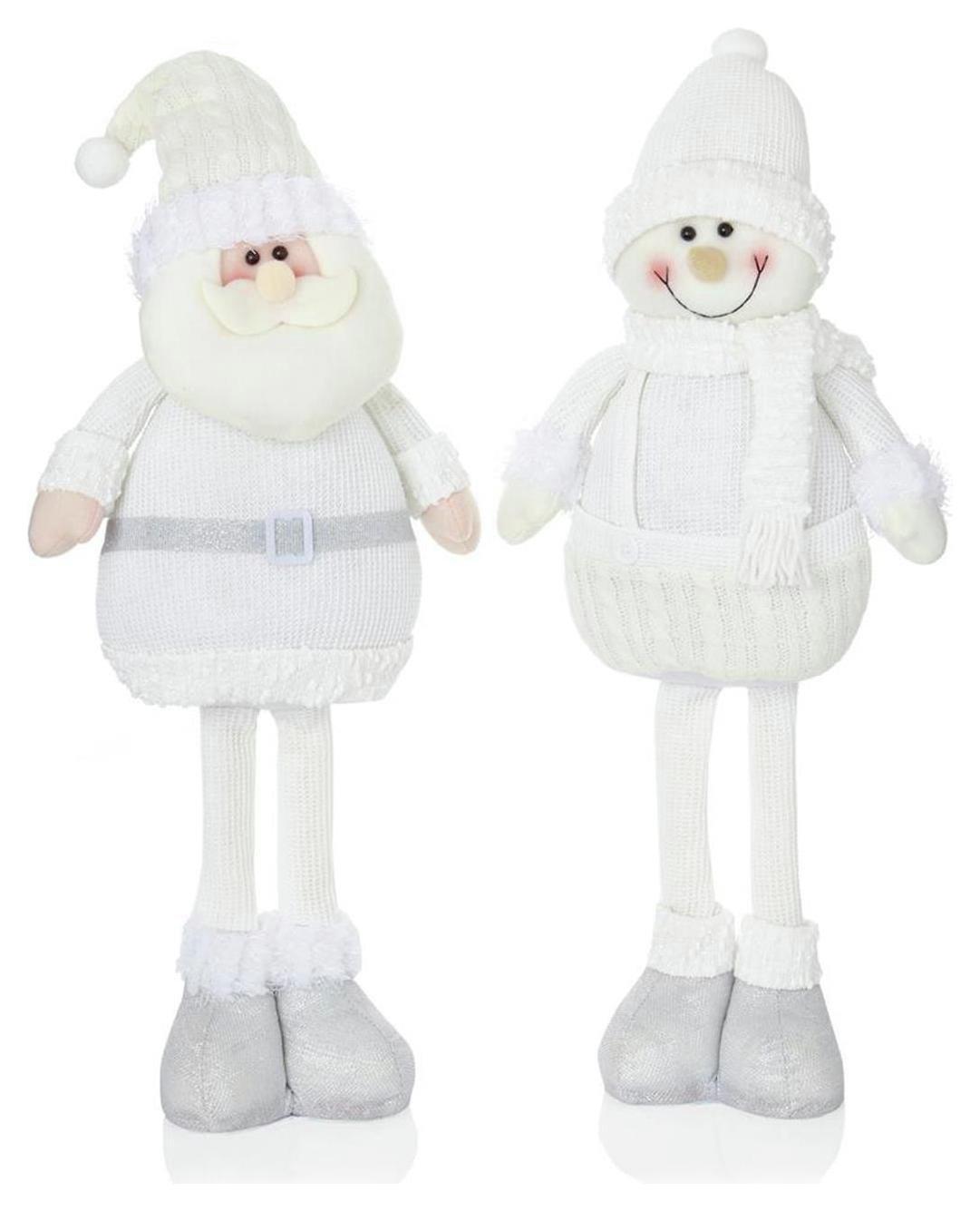 premier-decorations-56cm-standing-santa-snowman-white