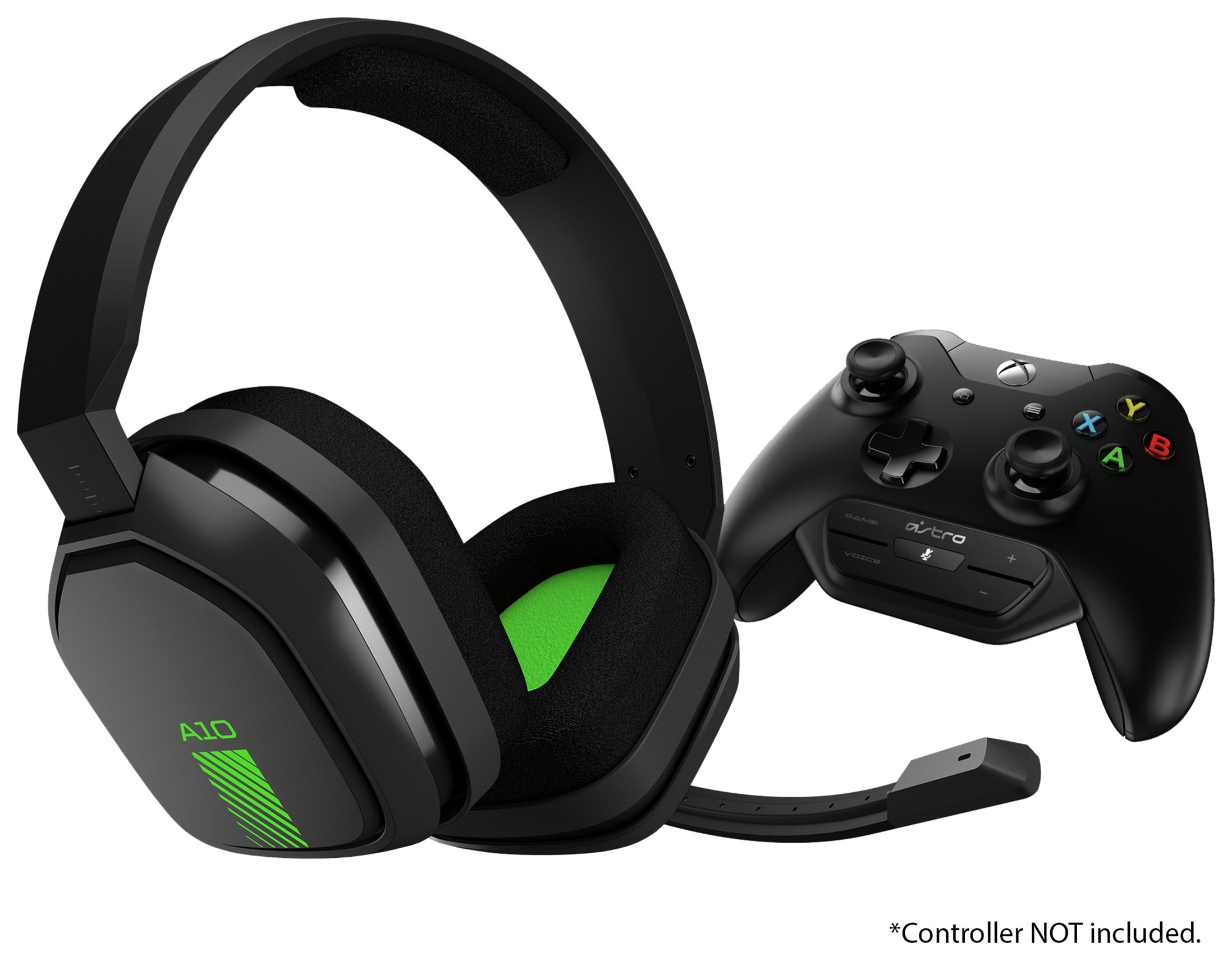Image of Astro A10 Multiplatform Gaming Headset w/ MixAmp M60 - Green