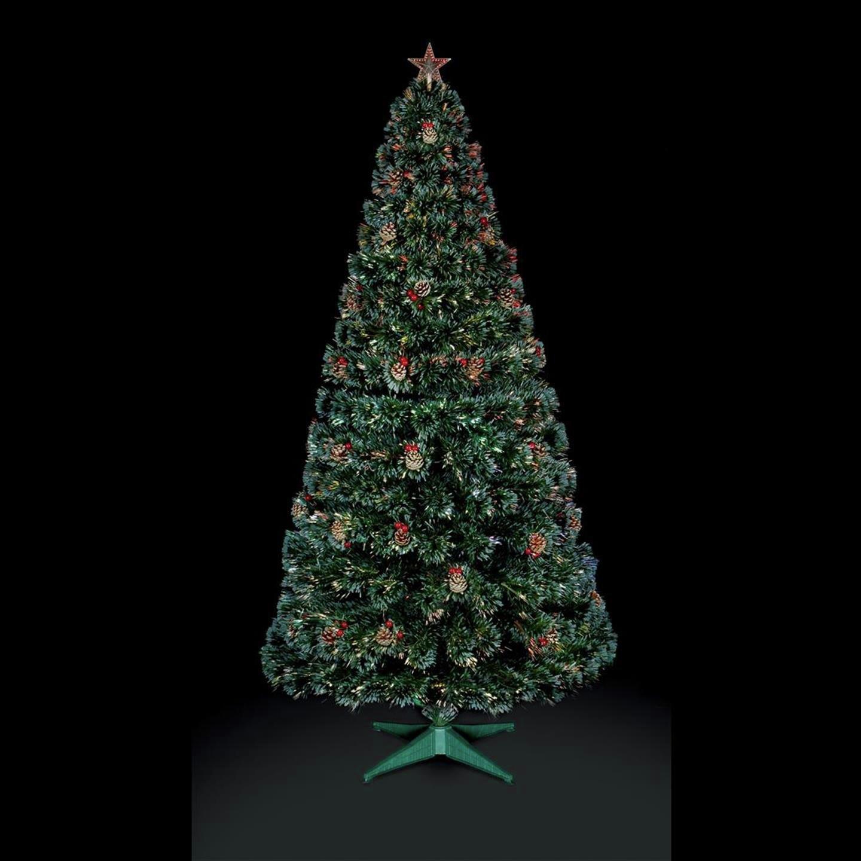 premier-decorations-4ft-fibre-optic-tree-star-green